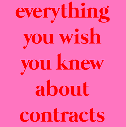 everything you wish you knew about contracts