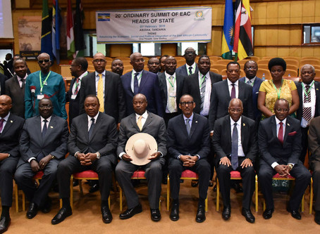 The East African Community: A Lesson to Other African Regional Blocs.
