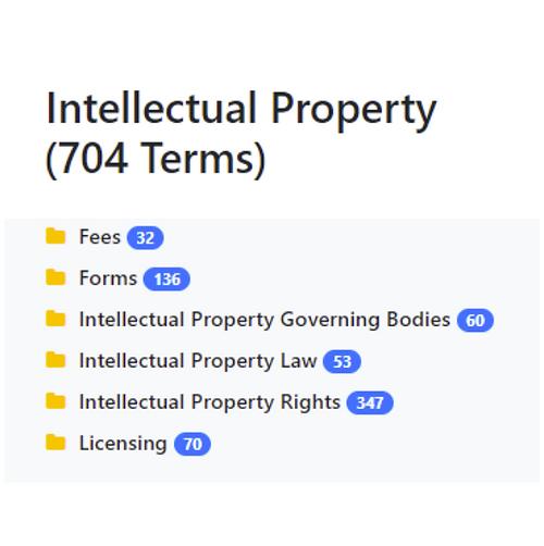 Intellectual Property Taxonomy