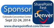 WAND will be exhibiting at the Denver SharePoint Fest Sept 22-24