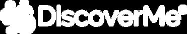 discoverme logo white