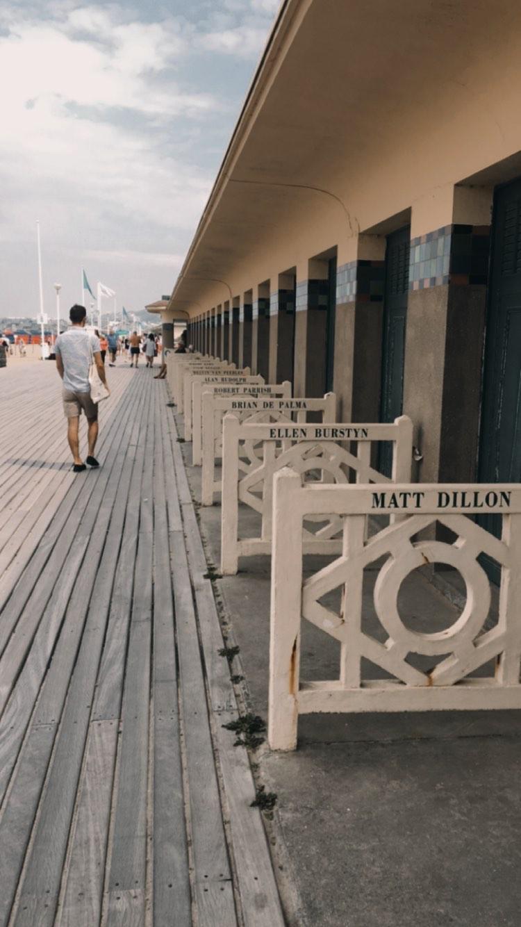 Promenade des Planches - Deauville - Eté 2020
