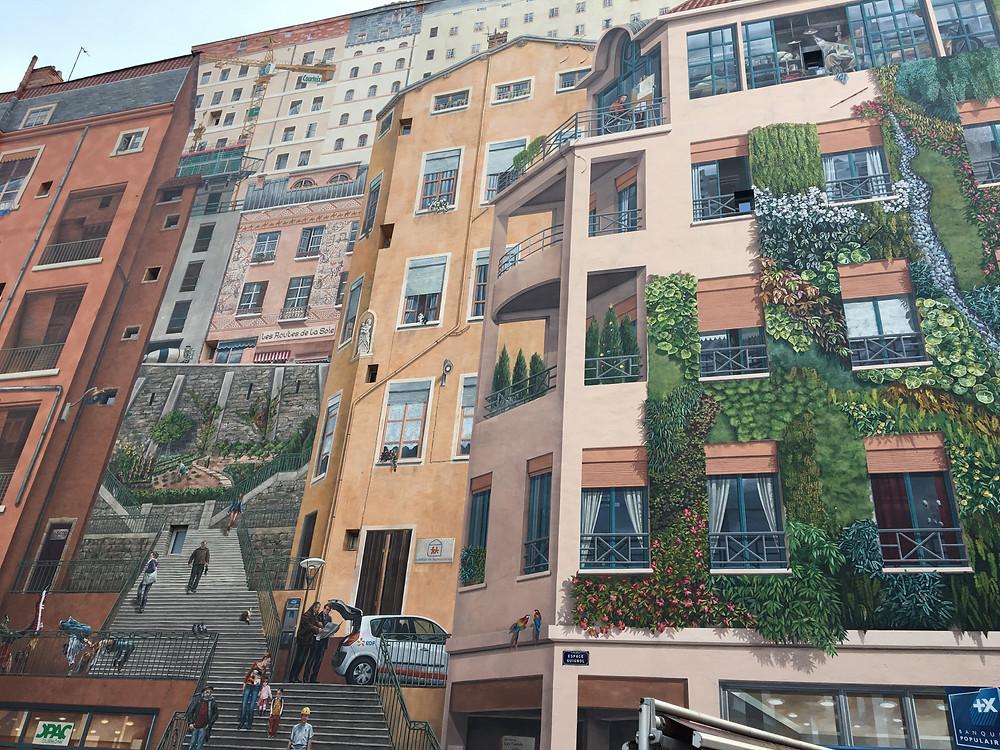Mur des Canuts - Lyon - Octobre 2019
