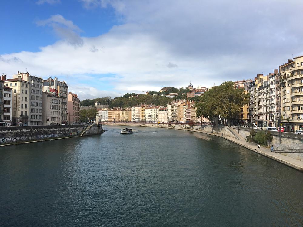 La Saône entre le 5ème et le 1er - Lyon - Septembre 2019