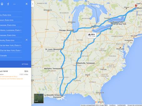 USA FROM NORTH TO SOUTH : TRAVERSÉE & REMONTÉE - ROAD-TRIP USA 2015-2016 #3