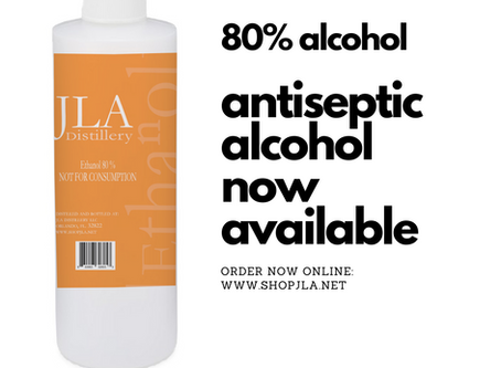 Antiseptic Alcohol Now Available