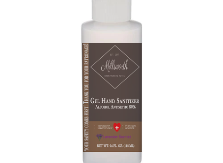 Hand Sanitizer Custom Labeling Now Available!