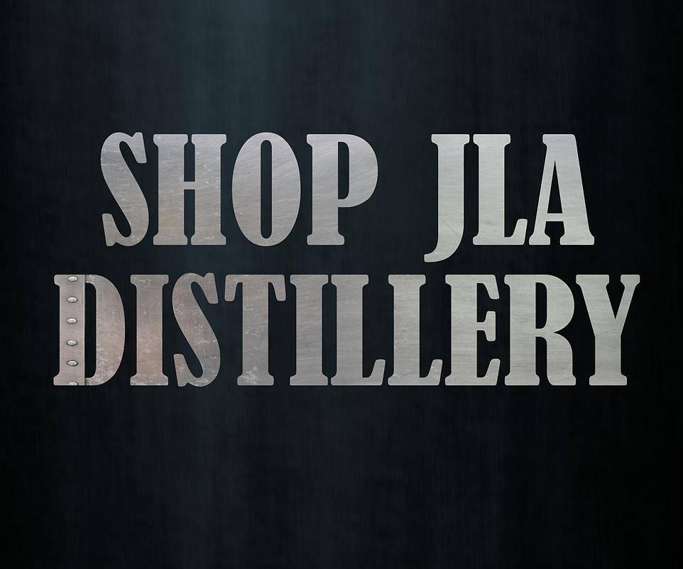 shop JLA Distillery Blue metal backgroun