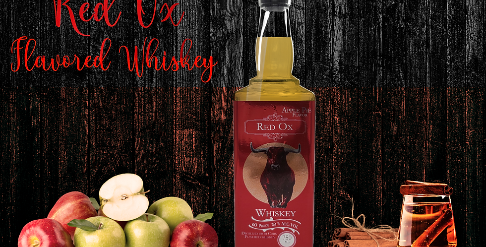 Red Ox Apple Pie-Flavored Whiskey