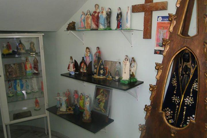 Grisallys - Espaço religioso