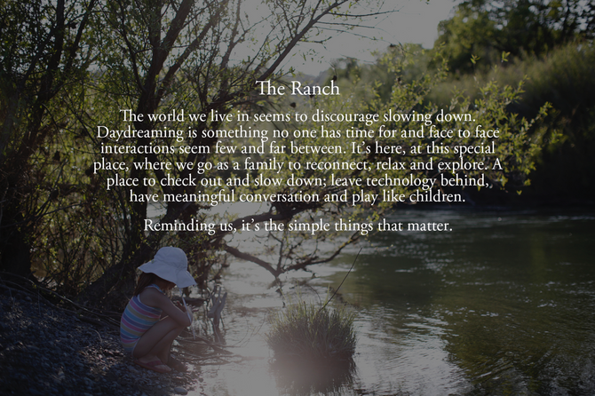 The Ranch by: Sasha Gulish