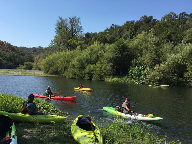 Russian River Confluence.