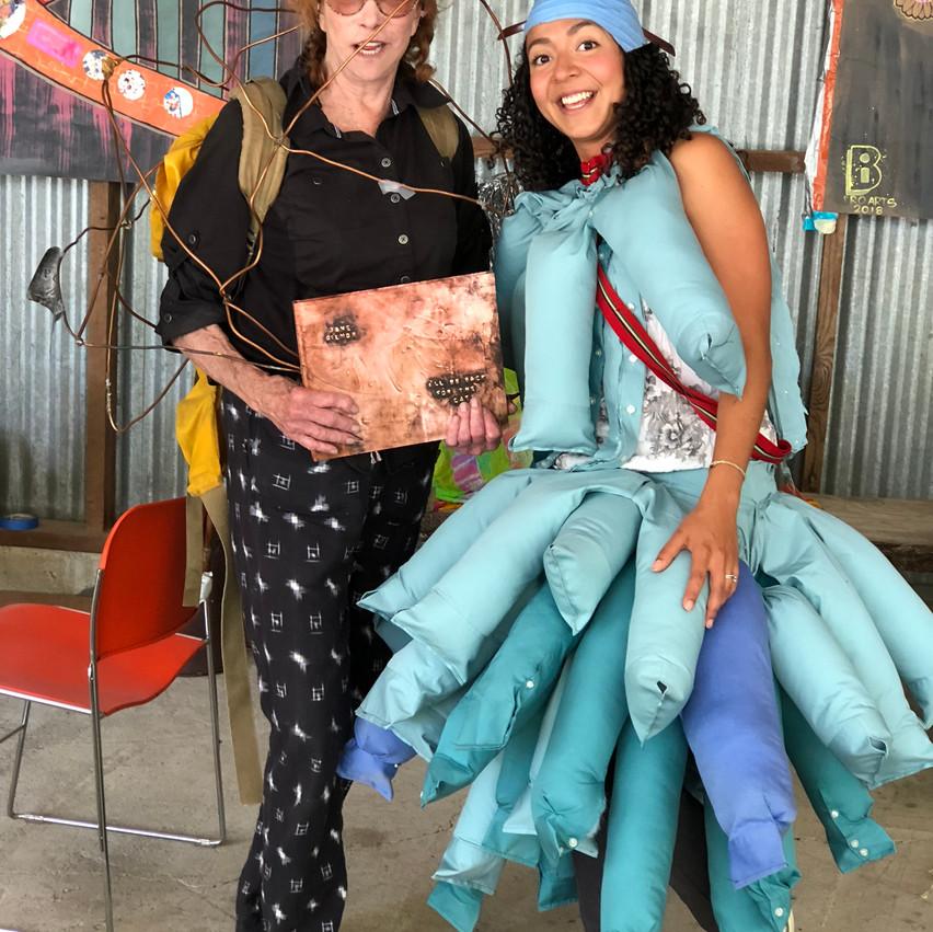 Artist Jane Gilmor & ProgramDirector