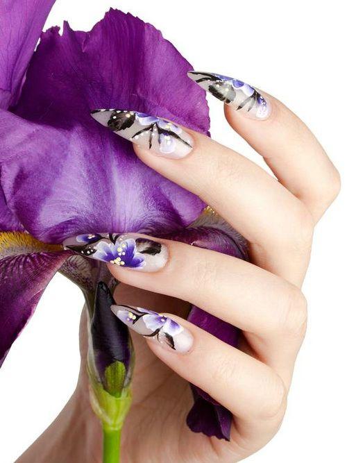 Acrilico floral 3D