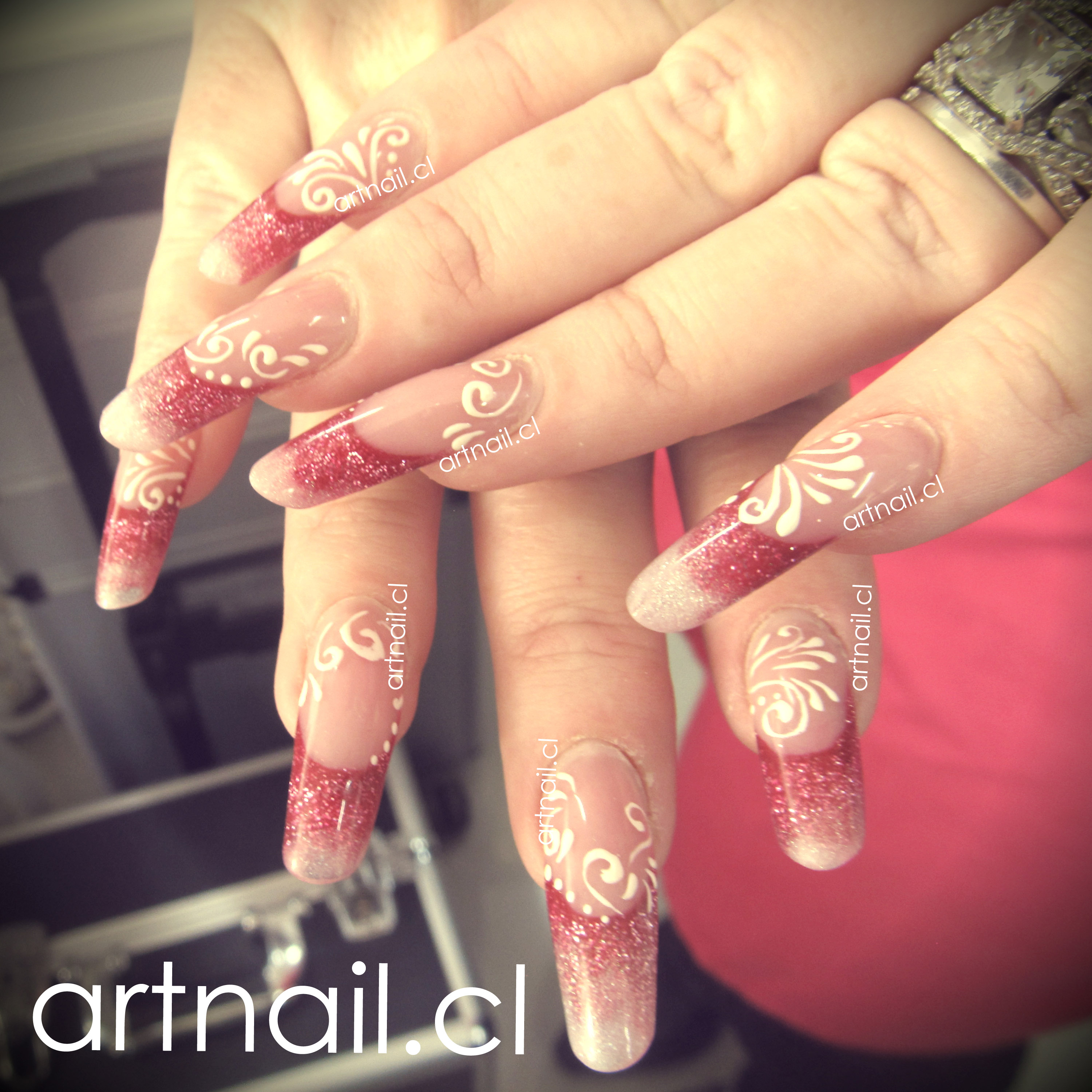 Arabesque en gel