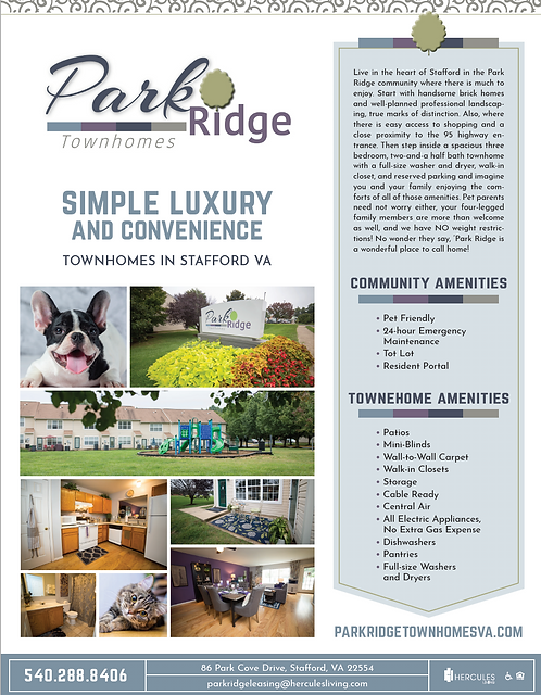 HL - Park Ridge - Brochure Flyers