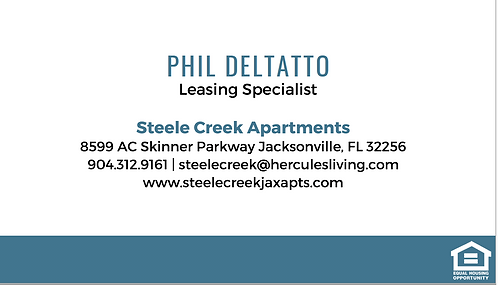 HL - Steele Creek - Business Cards