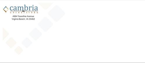 TBCO - #10 Envelopes