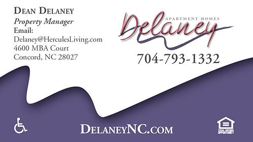 HL - Delaney - Business Cards