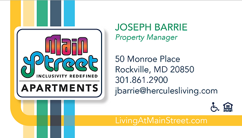 HL - Main Street - Business Cards