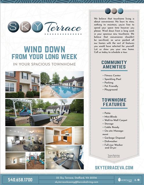 HL - Sky Terrace - Brochure Flyers