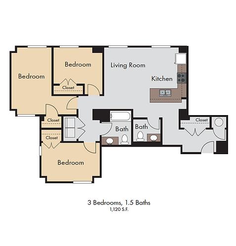 TBCO - 2-D Color Floor Plan Creation
