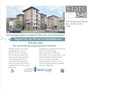 HL - Flats at 540 - Postcards