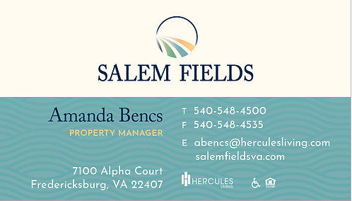 HL - Salem Fields - Business Cards