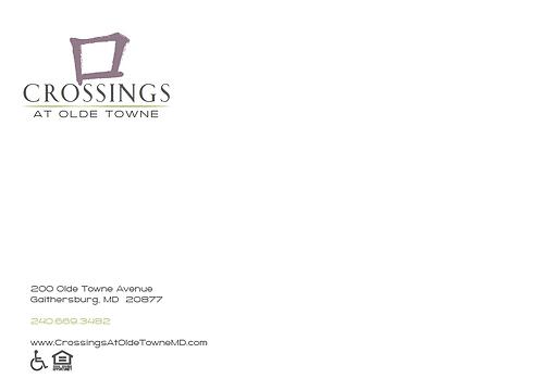 HL - Crossings at Olde Towne - Note Cards