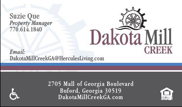 HL - Dakota Mill - Business Cards