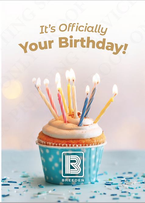 TBCO - Happy Birthday Greeting Cards