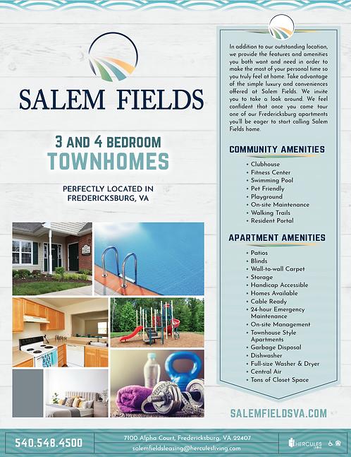 HL - Salem Fields - Brochure Flyers