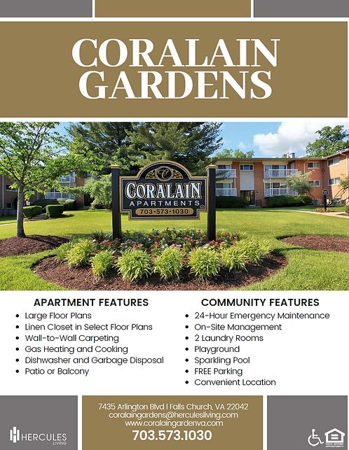 HL - Coralain Gardens Brochure Flyer