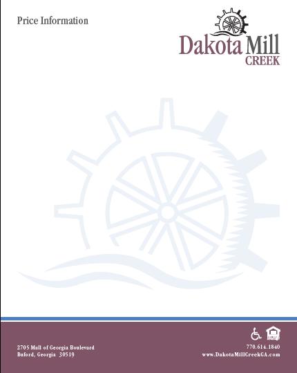 HL - Dakota Mill - Price Sell Sheet