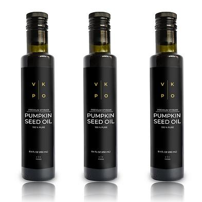 3 Bottles - VK Pumpkin Seed Oil