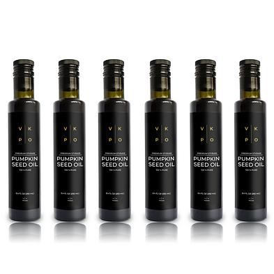 6 Bottles - VK Pumpkin Seed Oil