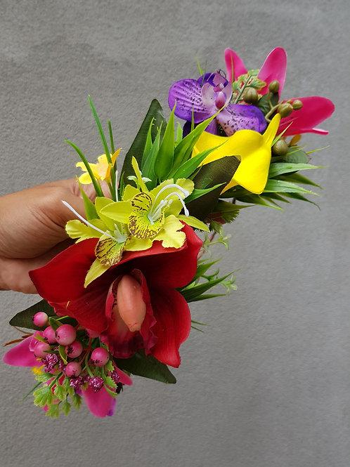 Faux 1/4 Flower Crown