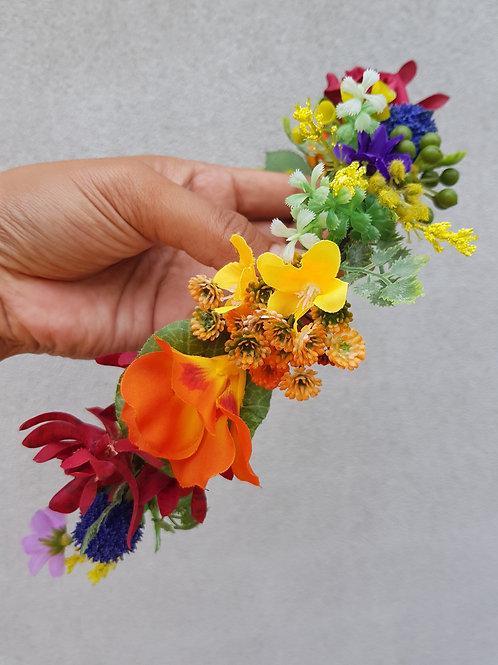 Faux Infant Flower Crown