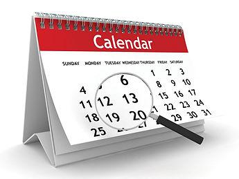 驗樓BOOKING日曆