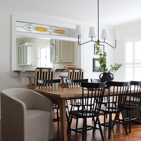 CLIENT WOODLAND MAGIC / DINING ROOM REVEAL