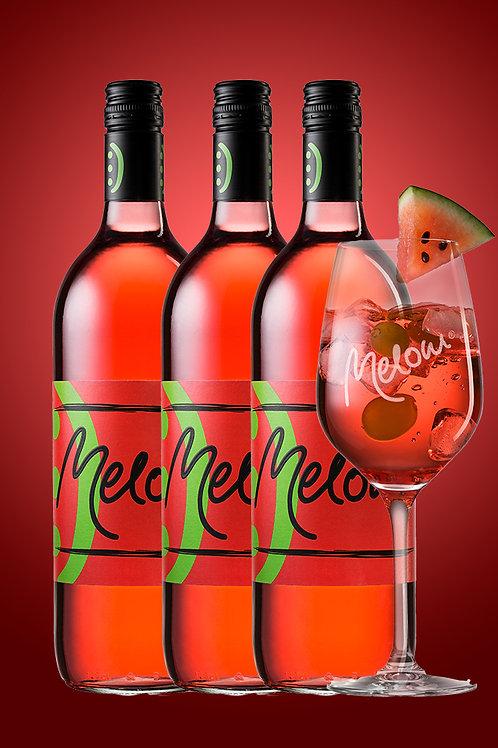 3er Pack MELONI® 3 Flaschen á 1L