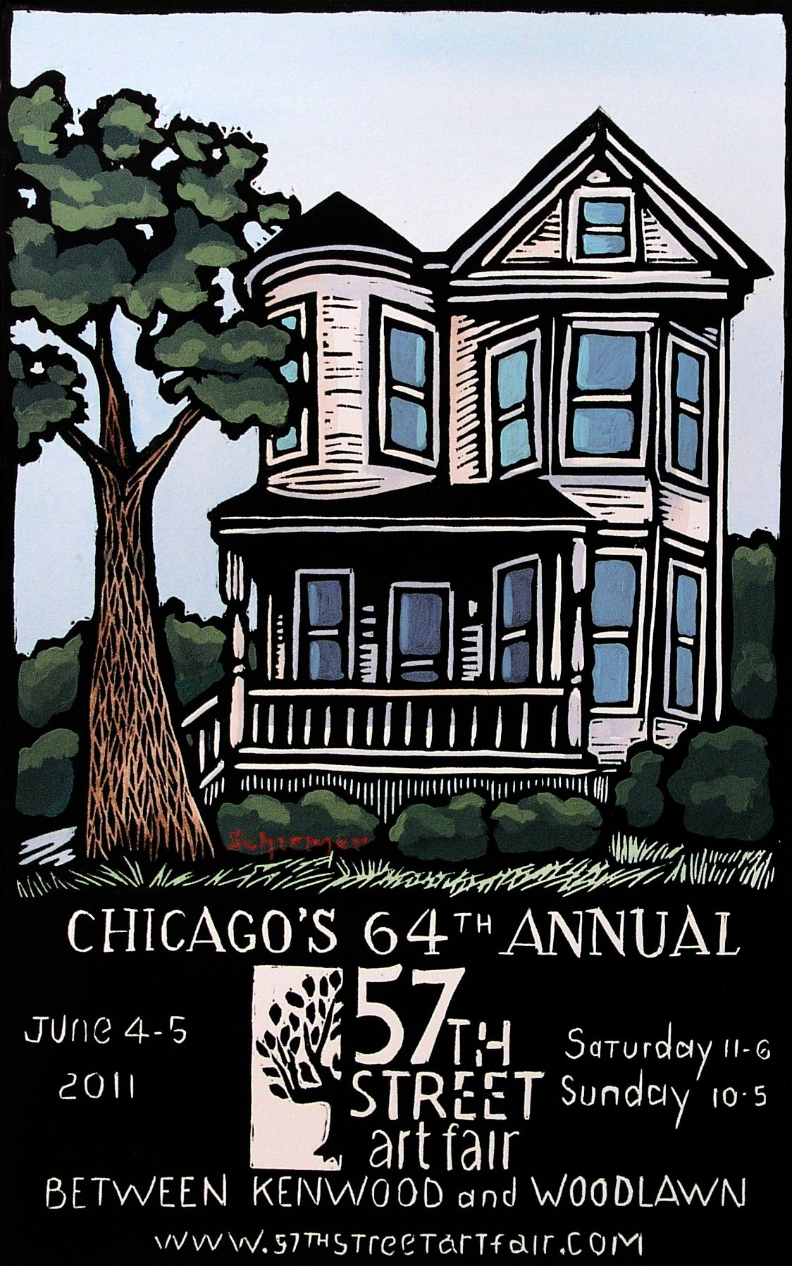 2011 Poster by John Schirmer