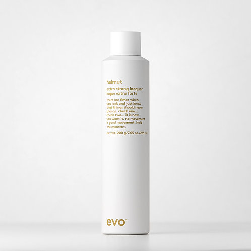 evo helmut extra strong hairspray