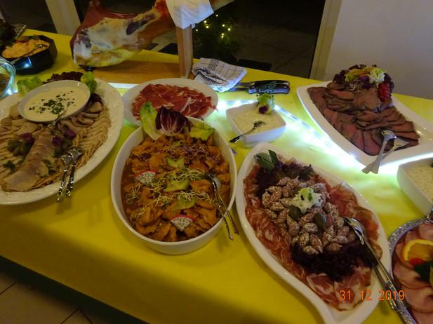 Inspirationen Dinner-Buffet