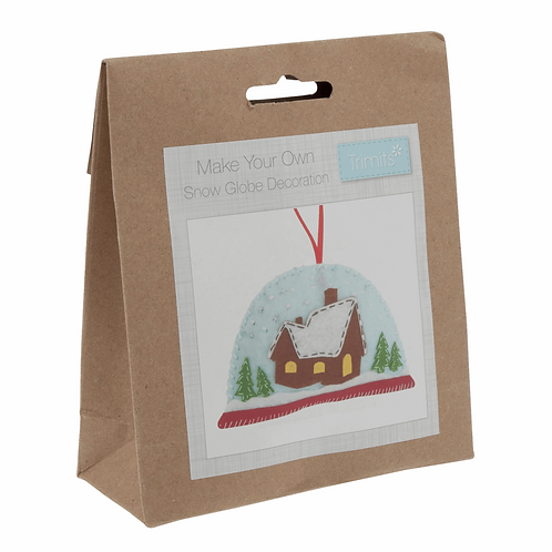 Felt Snowglobe Decoration Kit