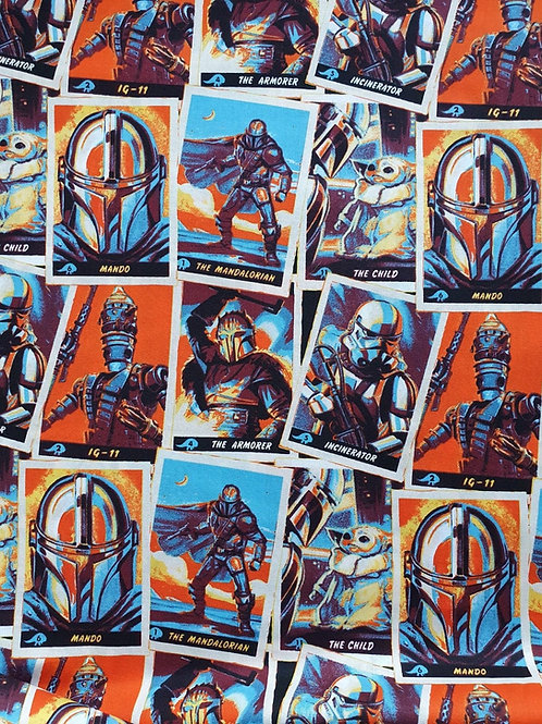 Star Wars Mandalorian Trading Cards - Per 0.5m