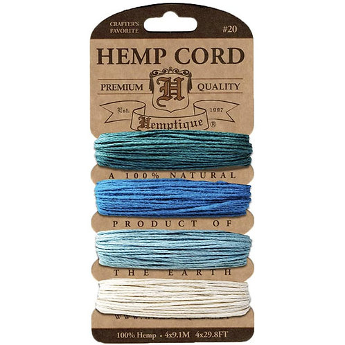 Hemptique - Aquamarine Hemp Cord