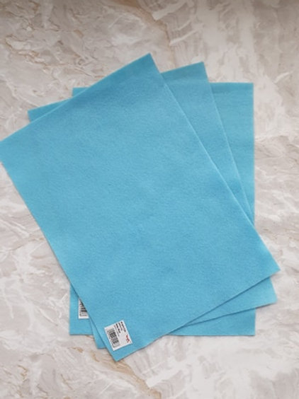 The Craft Factory Felt Baby Blue - Per Sheet