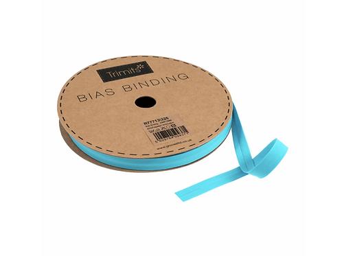 13mm Aqua Bias Binding