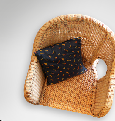 Cushion on chair